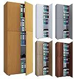 VCM Büroschrank Aktenschrank Bücherregal...