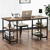 YOLEO Schreibtisch Computertisch Bürotisch...