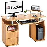 TecTake Computerschreibtisch Bürotisch mit...