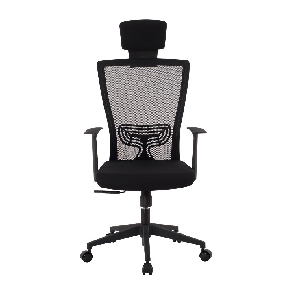 LANGRIA Bürostuhl mit Kopfstütze