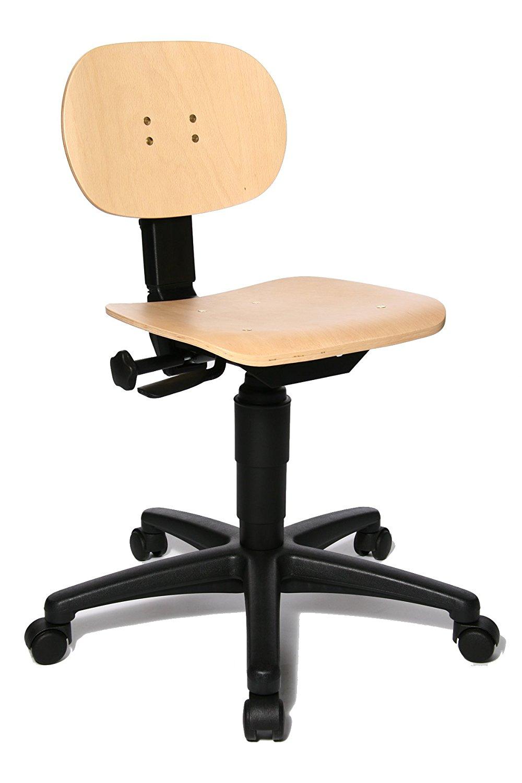 Topstar Bürostuhl aus Holz